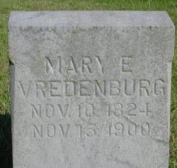 VREDENBURG, MARY E. - Woodbury County, Iowa | MARY E. VREDENBURG