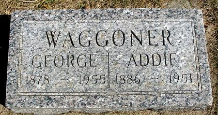 WAGGONER, GEORGE & ADDIE - Woodbury County, Iowa | GEORGE & ADDIE WAGGONER