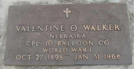 WALKER, VALENTINE O. - Woodbury County, Iowa | VALENTINE O. WALKER