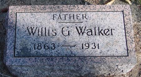 WALKER, WILLIS G. - Woodbury County, Iowa | WILLIS G. WALKER