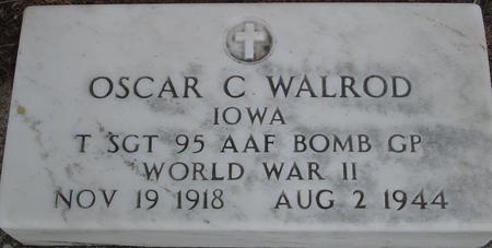 WALROD, OSCAR C. - Woodbury County, Iowa | OSCAR C. WALROD