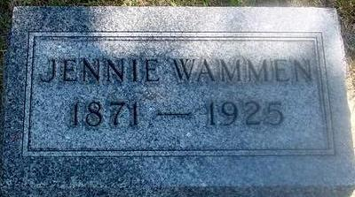WAMMEN, JENNIE - Woodbury County, Iowa | JENNIE WAMMEN