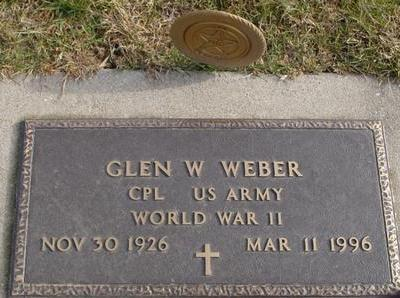 WEBER, GLEN W. - Woodbury County, Iowa | GLEN W. WEBER