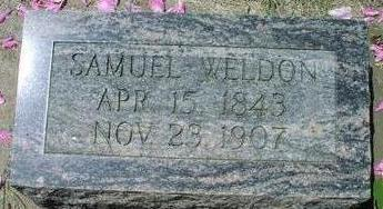 WELDON, SAMUEL - Woodbury County, Iowa | SAMUEL WELDON