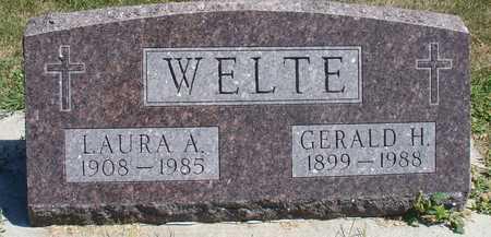 WELTE, GERALD & LAURA - Woodbury County, Iowa | GERALD & LAURA WELTE