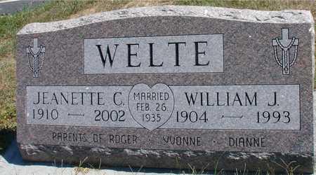 WELTE, WILLIAM & JEANETTE - Woodbury County, Iowa   WILLIAM & JEANETTE WELTE