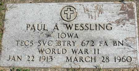 WESSLING, PAUL A. - Woodbury County, Iowa | PAUL A. WESSLING