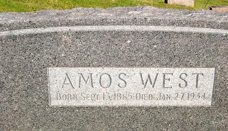 WEST, AMOS - Woodbury County, Iowa | AMOS WEST