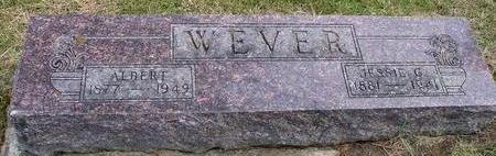 WEVER, ALBERT & JESSIE - Woodbury County, Iowa | ALBERT & JESSIE WEVER