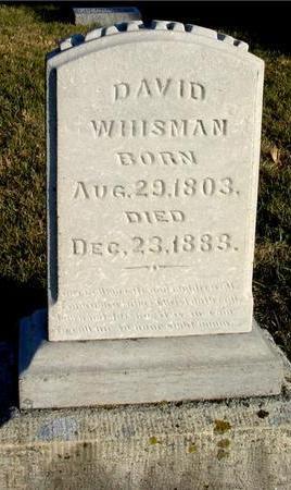 WHISMAN, DAVID - Woodbury County, Iowa   DAVID WHISMAN