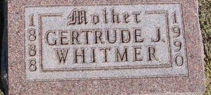 WHITMER, GERTRUDE - Woodbury County, Iowa | GERTRUDE WHITMER