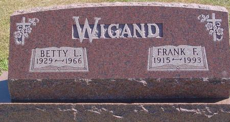 WIGAND, FRANK & BETTY - Woodbury County, Iowa | FRANK & BETTY WIGAND