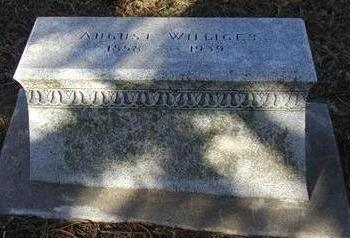 WILLIGES, AUGUST - Woodbury County, Iowa   AUGUST WILLIGES