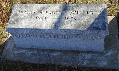 WILLIGES, HENRY GEORGE - Woodbury County, Iowa | HENRY GEORGE WILLIGES