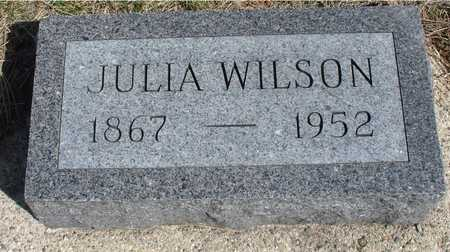 WILSON, JULIA - Woodbury County, Iowa | JULIA WILSON
