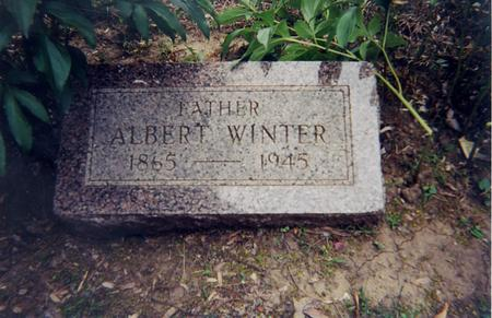 WINTER, ALBERT - Woodbury County, Iowa | ALBERT WINTER