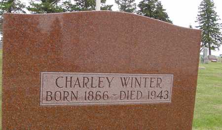 WINTER, CHARLEY - Woodbury County, Iowa | CHARLEY WINTER