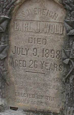 WOLD, CARL J - Woodbury County, Iowa | CARL J WOLD