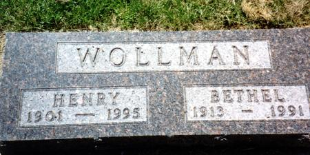 WOLLMAN, HENRY - Woodbury County, Iowa | HENRY WOLLMAN
