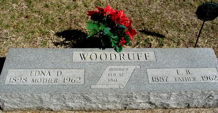 WOODRUFF, E. B. & EDNA D. - Woodbury County, Iowa | E. B. & EDNA D. WOODRUFF
