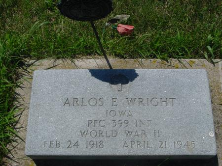WRIGHT, ARLOS E. - Woodbury County, Iowa | ARLOS E. WRIGHT