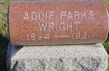 PARKS WRIGHT, ADDIE - Woodbury County, Iowa | ADDIE PARKS WRIGHT