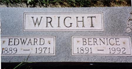 WRIGHT, EDWARD - Woodbury County, Iowa | EDWARD WRIGHT