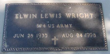 WRIGHT, ELWIN LEWIS - Woodbury County, Iowa | ELWIN LEWIS WRIGHT