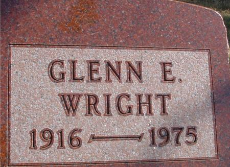 WRIGHT, GLENN E. - Woodbury County, Iowa | GLENN E. WRIGHT