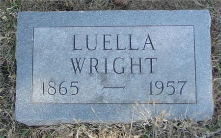 WRIGHT, LUELLA - Woodbury County, Iowa | LUELLA WRIGHT