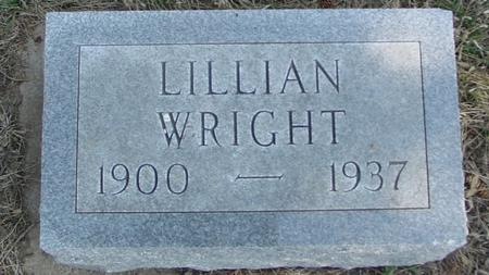 WRIGHT, LILLIAN - Woodbury County, Iowa | LILLIAN WRIGHT