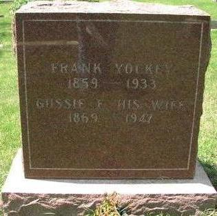 YOCKEY, FRANK - Woodbury County, Iowa | FRANK YOCKEY