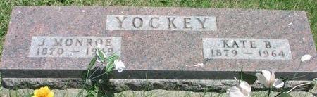YOCKEY, J. MONROE - Woodbury County, Iowa | J. MONROE YOCKEY