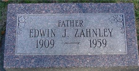 ZAHNLEY, EDWIN J. - Woodbury County, Iowa | EDWIN J. ZAHNLEY