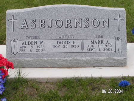 ASBJORNSON, MARK A. - Worth County, Iowa | MARK A. ASBJORNSON
