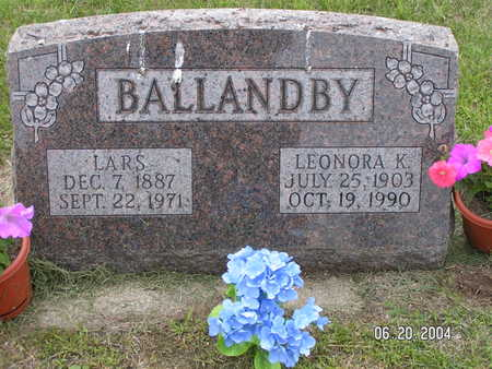 BALLANDBY, LARS - Worth County, Iowa | LARS BALLANDBY