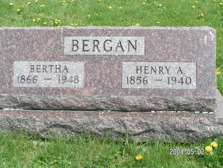 BERGAN, BERTHA - Worth County, Iowa | BERTHA BERGAN