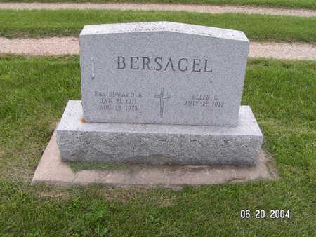 BERSAGEL, REV EDWARD A. - Worth County, Iowa | REV EDWARD A. BERSAGEL