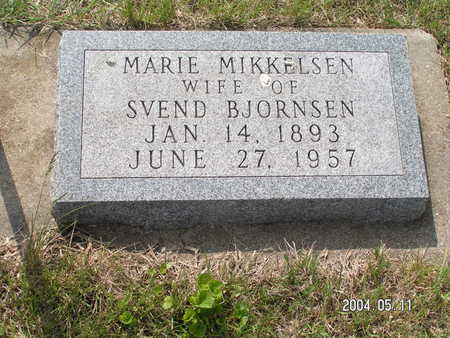 MIKKELSEN, MARIE - Worth County, Iowa | MARIE MIKKELSEN