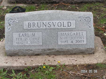 BRUNSVOLD, EARL M. - Worth County, Iowa | EARL M. BRUNSVOLD