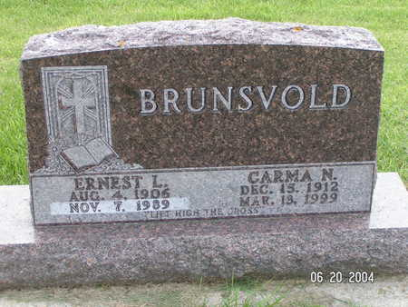 BRUNSVOLD, ERNEST L. - Worth County, Iowa | ERNEST L. BRUNSVOLD
