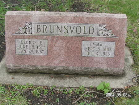 BRUNSVOLD, GEORGE E. - Worth County, Iowa | GEORGE E. BRUNSVOLD