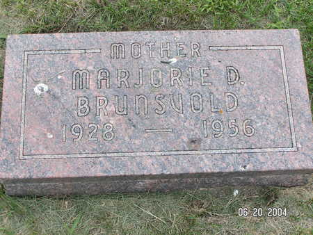 BRUNSVOLD, MARJORIE D. - Worth County, Iowa | MARJORIE D. BRUNSVOLD