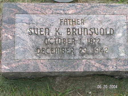 BRUNSVOLD, SVEN K. - Worth County, Iowa | SVEN K. BRUNSVOLD