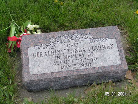 CUSHMAN, GERALDINE - Worth County, Iowa | GERALDINE CUSHMAN