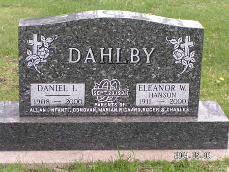 DAHLBY, ELEANOR W. (HANSON) - Worth County, Iowa | ELEANOR W. (HANSON) DAHLBY