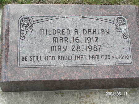 DAHLBY, MILDRED A. - Worth County, Iowa | MILDRED A. DAHLBY