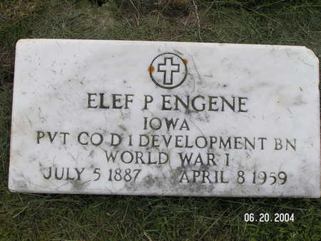 ENGENE, ELEF P. - Worth County, Iowa | ELEF P. ENGENE