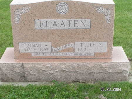 FLAATEN, TRUMAN A. - Worth County, Iowa | TRUMAN A. FLAATEN