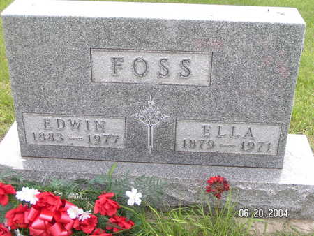 FOSS, ELLA - Worth County, Iowa | ELLA FOSS